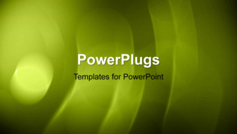 PowerPoint Template - An abstract spinning background